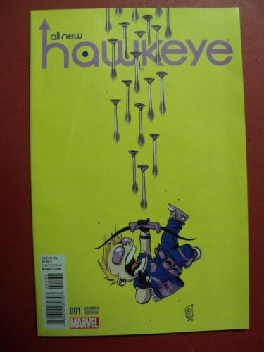 SKOTTIE YOUNG VARIANT COVER ALL NEW HAWKEYE #1 MARVEL 9.4 OR BETTER