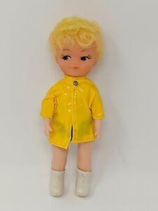 Vtg-Clone-Boy-Doll-Little-Brother-Tammy-Judy-Lorna-No-Markings-Raincoat-Boots