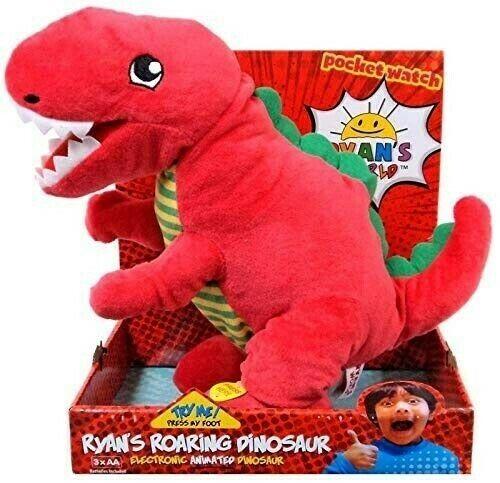 Official Ryan's World Roaring Dinosaur – Red Tyrannosaurus Rex