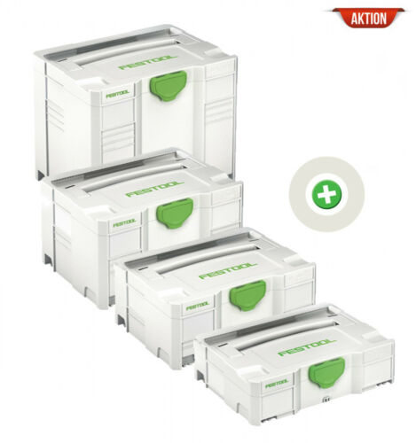 Festool SYSTAINER T-LOC SYS 1-4 TL Sortiment497563A
