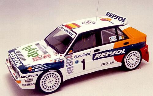 DECAL 1//24 Lancia Delta HF    REPSOL Rally  Montecarlo 93