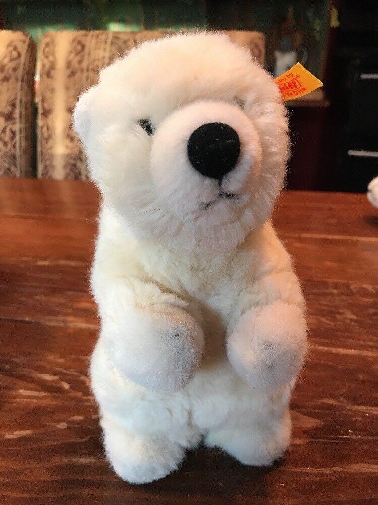 Steiff Orso Polare Polare Polare - Arco Eisbar Bambino 062872 1998-1999 1a08ed