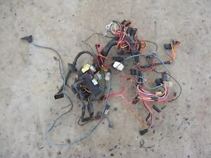 Details about 82 - 85 Jeep Grand Wagoneer Complete dash wiring harness on