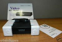 4426/ Radio Shack Rf Video Modulator Rs 15-1244 In Box With Papers