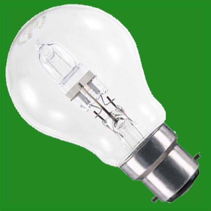 X 50 70w (= 100w) Transparente Halógena Regulable GLS Bombillas de Ahorro