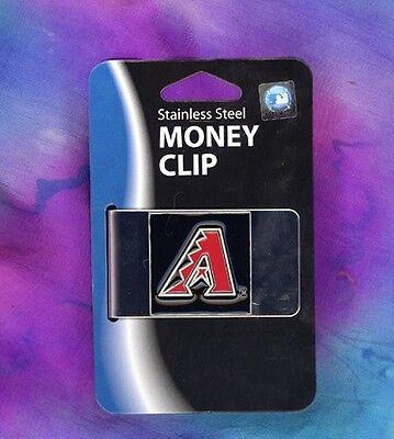Emblem Geldklammer Fein Verarbeitet Arizona Diamondbacks Logo Sport Weitere Ballsportarten