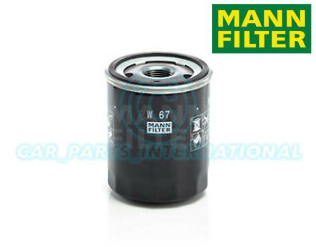 Mann Hummel Repuesto de Calidad OE Filtro de Aceite Del Motor W 67