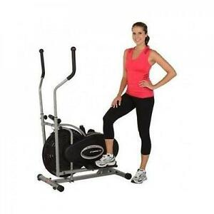 Elliptical Trainer Machine Exercise Workout Gym Cardio Fitness Equipment  Home