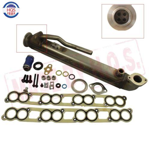 Upgraded EGR Cooler Kit /& Gaskets For 2003-07 Ford Powerstroke Diesel Turbo 6.0L