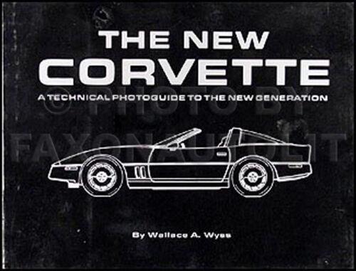 1984 Corvette Technical Photoguide Book Detail Features