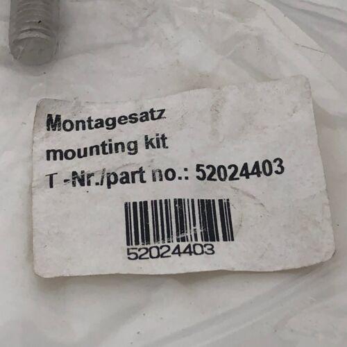 MONTAGESATZ MOUNTING BRACKET KIT # 52024403 NOS