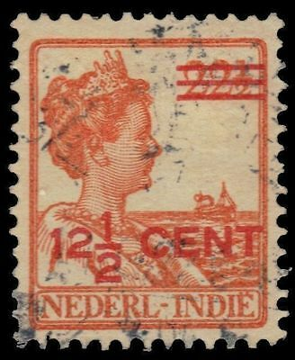 "Netherlands Indies 145 mi133 pa39203 - Queen Wilhelmina ""provisional"""