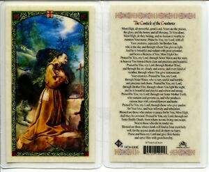 Canticle-of-the-Creatures-St-Francis-of-Assisi-Laminated-Prayer-Card-HC9-530E