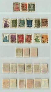 Russia-USSR-1924-SC-276-II-291-used-perf-14-1-2x15-no-wmk-rta6010