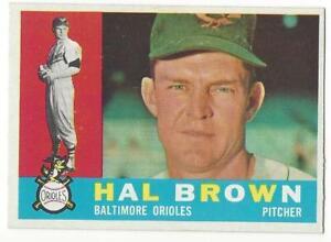 HAL-BROWN-1960-Topps-89-NM-MT-MLB-Baltimore-Orioles-VINTAGE