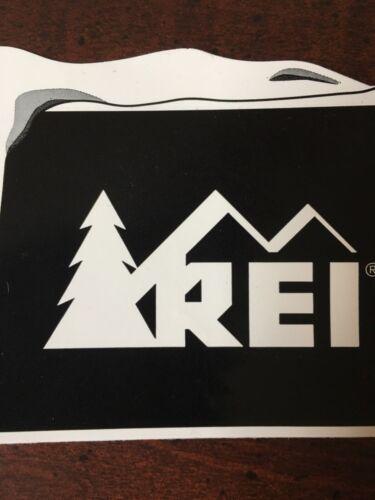 NEW REI Co-op Sticker Snow Square Snow on Corner Ski Board Slope Cross Powder