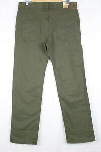 New-Prana-Men-039-s-Bronson-Pant-Cargo-Green-M4BR30111