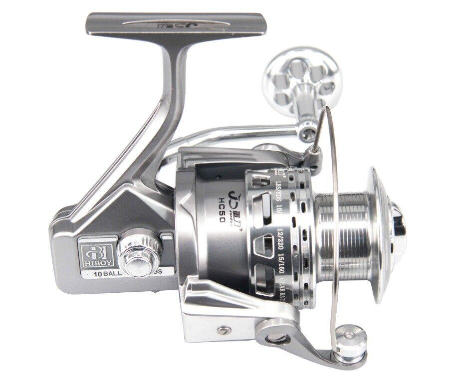 Fishing Spinning Reel SaltwaterFreshwater CNC Aluminium 91BB 4.8 1 High Quality