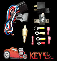 Thermostat Relay Electric Fan Hardware Wiring Kit 180 Off 200 On Chevy Ford