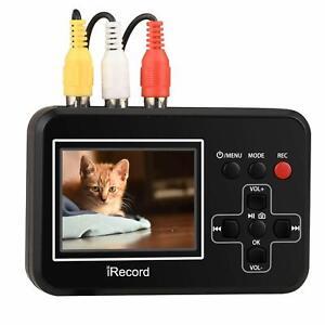 vhs to dvd recorder video to digital converter capture from vcr hi8 camcorder ebay. Black Bedroom Furniture Sets. Home Design Ideas