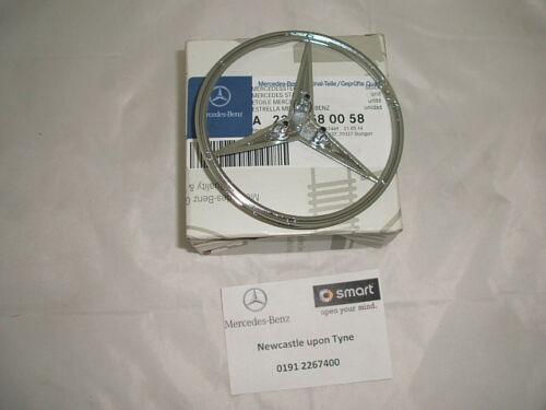 Véritable MERCEDES-BENZ CLASSE S W220 arrière hayon coffre badge emblème a2207580058