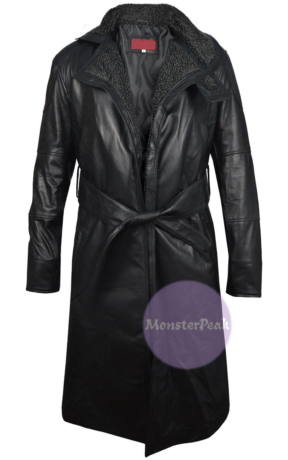 Ryan Gosling Blade Runner 2049 (Officer K) Trench Leather Coat, XXS - 5XL