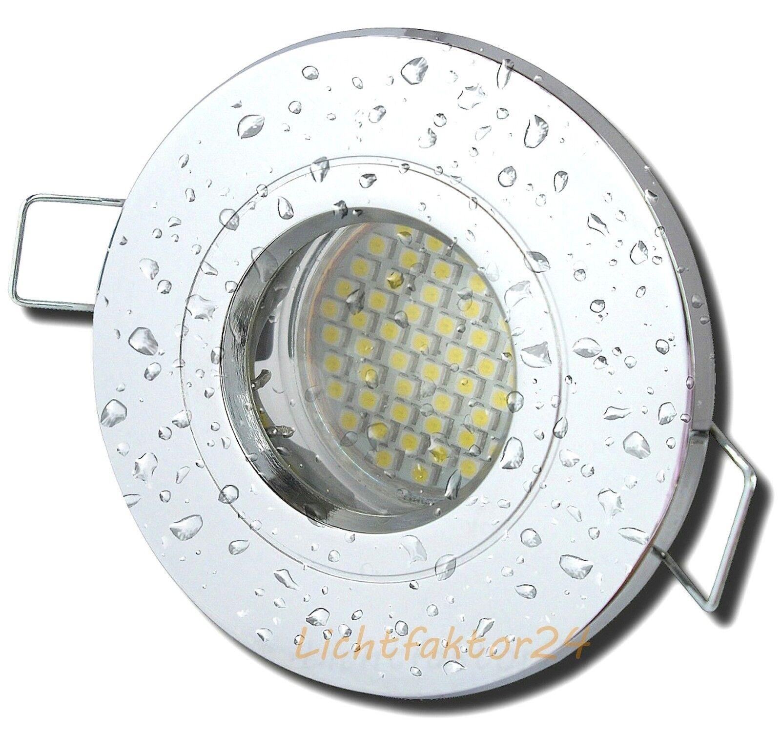 5Watt LED Feuchtraum   Dusche   Bad   Nasszelle   SMD Einbauspots   220V   IP54