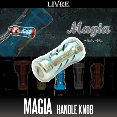 TITANIUM LIVRE Magia Titanium Handle Knob 1 piece CHAMPAGNE
