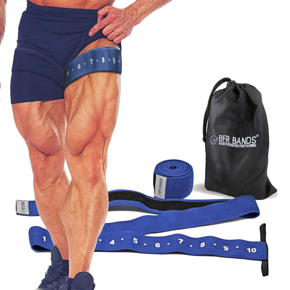 New BFR Bands Quad Quad Bands Wrap Leg and Calf Occlusion Training Bands X2 - 3 inches wide ce4205