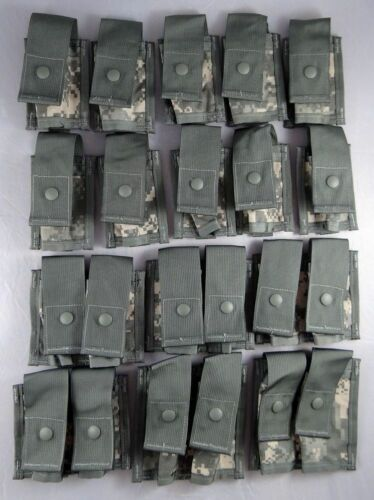 FLC MOLLE Vest w// 16 Pouches ACU Lot of Fighting Load Carrier w// Grenadier Set