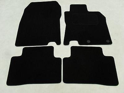 For Nissan Qashqai 2007-2014 Fully Tailored Black Carpet Car Mats