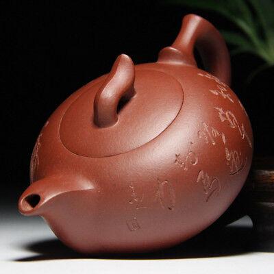 Chinese Yixing Zisha Hand Carved Painting Teapot Ceramic Tea Pot Tea Kettle