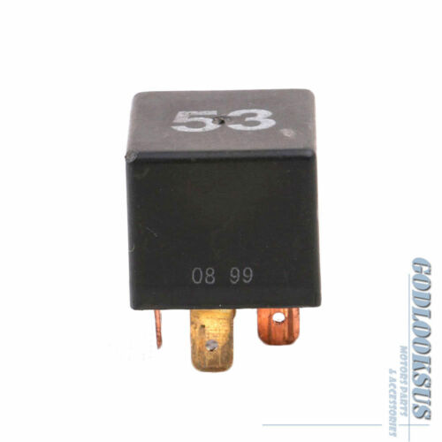 53# OE Multi Purpose Relay 4-pin Plug 141951253B For VW Audi Seat Skoda Porsche