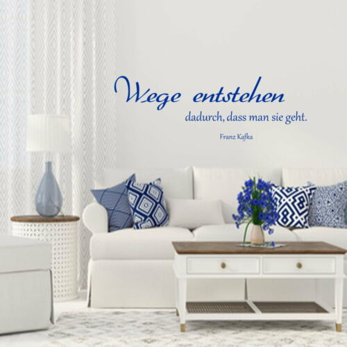 Wall Sticker Living Room Saying Wall Decal aa319 routes are thus..
