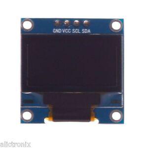 128X64-OLED-Pantalla-LCD-Modulo-Arduino-1-3-034-I2C-azul-blanco-de-serie-IIC
