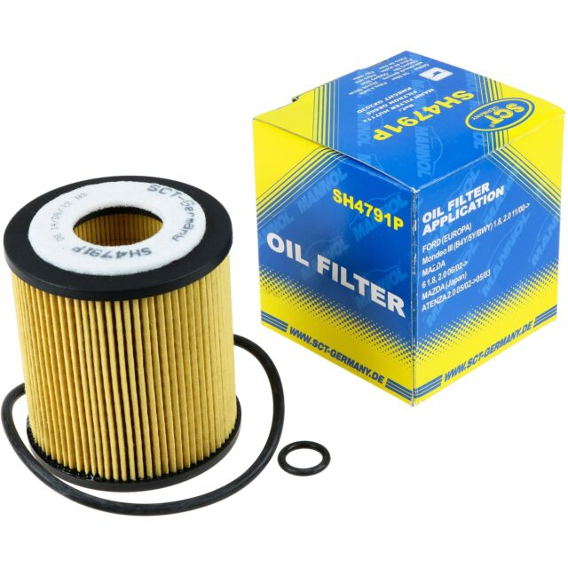 Original SCT Ölfilter SH 4791 P Oil Filter