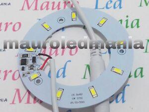 Plafoniere A Led 12 Volt Per Camper : T luce camper circolina led w resa dc v smd bianco