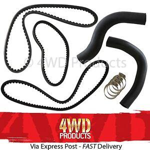 Radiator-Hose-amp-Belt-SET-for-Mitsubishi-Pajero-NA-NB-NC-ND-NE-2-6P-4G54-83-88
