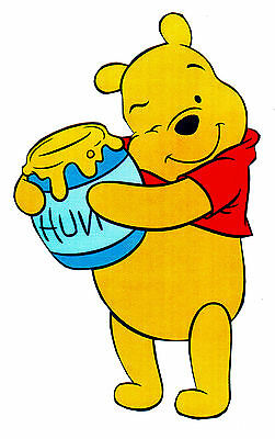 """10/""""  Disney classic pooh piglet wall sticker glossy cut out border character"""
