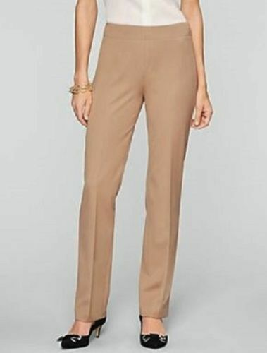 TALBOTS Pants 24W NWT   99 Dress Tan Refined Bi-Stretch Straight Leg