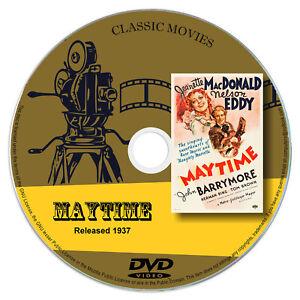 Maytime-1937-DVD-Film-Jeanette-MacDonald-John-Barrymore-Drama-Musical-Romance