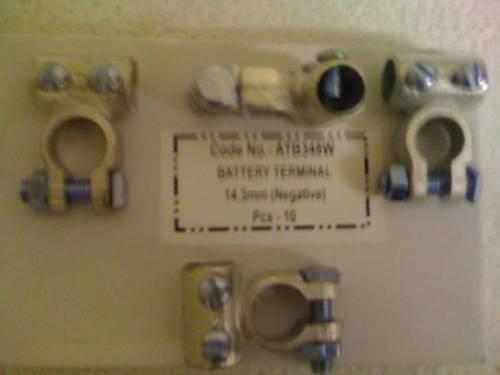 ATB348W. PT NO COMMERCIAL BATTERY NEG TERMINAL .LUCAS