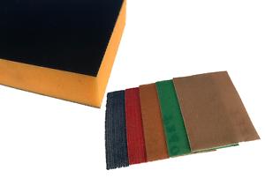 10 PRONET Mesh Sheets-Free p/&p PRONET Crochet Et Boucle De Ponçage Bloc Kit