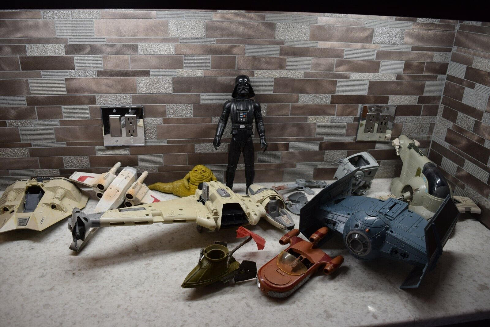 Vintage Star Wars KENNER Products Collection for parts
