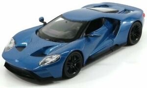WELLY 1/24 FORD USA   GT 2017   BLUE