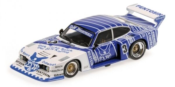 Ford Capri Taille 5 d&w Team Zakspeed K. NIEDZWIEDZ WINNER DRM Nurburgring 1982 1 43