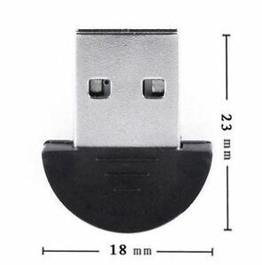 Premium Mini USB 2.0 Wireless Bluetooth Dongle Adapter Adaptor for PC, Laptop