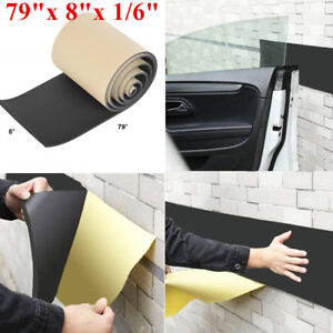 2mx20cmx4mm Car Door Bumper Guard Garage Wall Self Adhesive Foam Protector Accs