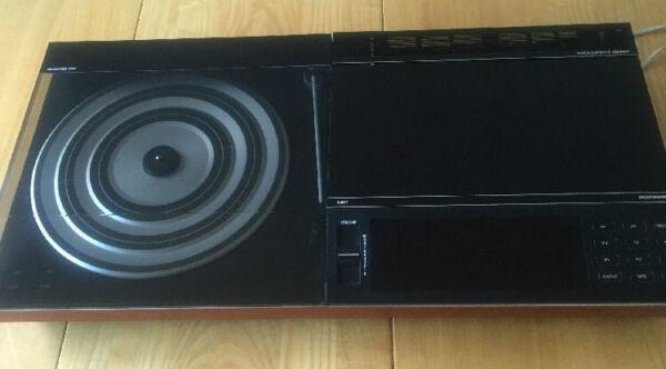 Beocenter 5000 System Bang Olufsen B&o Boxed Black Rosewood + Mmc20s Cartridge Op Reis