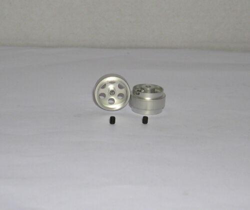 Achse 2.38 sloting plus 40115910 Felge universal 15.9x10mm x2 ALU-magn 1.05gr